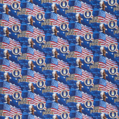 Thank You For Your Service  - Military Flags Air Force Multi  Yardage
