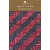 Sunset Cabin Quilt Pattern by Missouri Star