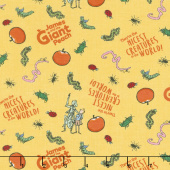 James and the Giant Peach - Creatures Yellow Yardage