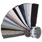 """Lava Batik Solids - Eclipse 2.5"""" Strips"""