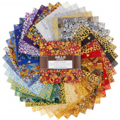 Gustav Klimt New Colors Metallic Charm Pack