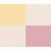 Sew Cherry 2 - Fat Quarter Yellow Panel