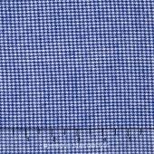 Shetland Flannel - Tiny Houndstooth Denim Yardage