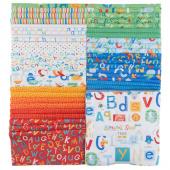 Alphabet Soup Flannel Tiles