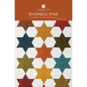 Rhombus Star Quilt Pattern by MSQC