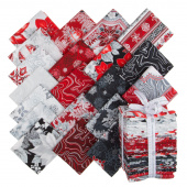 Holiday Flourish 11 Silver Metallic Fat Quarter Bundle