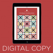 Digital Download - Double Churn Dash Quilt Pattern by Missouri Star