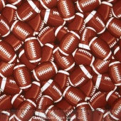 Sports - Packed Footballs Brown Yardage