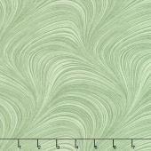 "Wave Texture - Wave Texture Green 108"" Wide Backing"