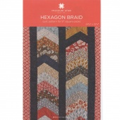 Hexagon Braid Quilt Pattern by Missouri Star