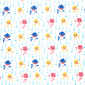 Baby Shark - Family Bubble Blast Yardage
