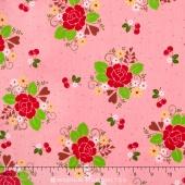 Sew Cherry 2 - Main Pink Yardage