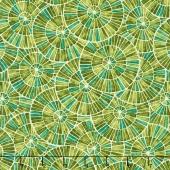 Zola - Mosaic Avocado Yardage
