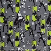 Star Wars: Rogue One - Imperial Army Grey Yardage
