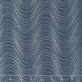 Essence of Pearl - Purple Wind Wave Teal Yardage