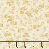Bricolage - Trailing Flowers Ivory Yardage