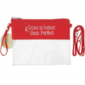 Done is Better Than Perfect Purse