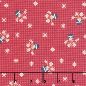 Gretel - Gingham Red Yardage