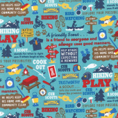 Cub Scouts - Cub Scouts Main Teal Yardage
