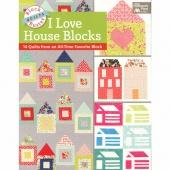 I Love House Blocks Book