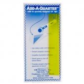 """Add A-Quarter Ruler - 1"""" x 6"""""""
