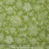 La Provence - Flowers Green Yardage
