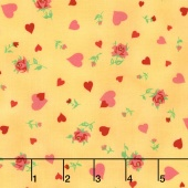 Love & Friendship - Heartfelt Butter Yardage