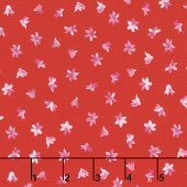 Afternoon Picnic - Flower Red Yardage