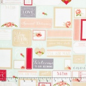 Rustic Elegance - Labels Mint Yardage