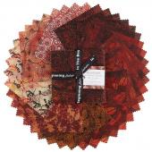 Seasons Autumn Digitally Printed Charm Pack