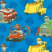 Paw Patrol - Paw Patrol Rescue Blue Yardage