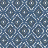 High Adventure 2 - Aztec Blue Yardage
