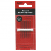 Richard Hemming Large Eye Sewing Needles - Milliners (Size 10)