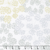 "Blueprint Basics Wide - Floral Ash 108"" Wide Backing"
