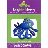 Ozzie Octopus Funky Friends Factory Pattern
