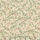 Once Upon A Memory - Pine Boughs Natural Yardage