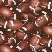 Sports - Footballs Brown Yardage