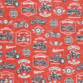 Born to Ride - Red Yardage