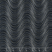 Essence of Pearl - Neutral Wind Wave Charcoal Yardage