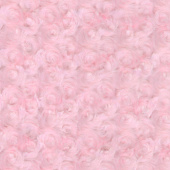 "Cuddle® Embossed Rose - Pink 60"" Minky Yardage"