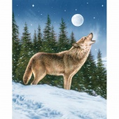 Majestic Outdoors - Majestic Wolf Multi Digitally Printed Panel