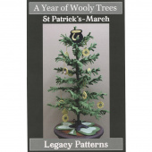 A Year of Wooly Trees Pattern - March St. Patrick's