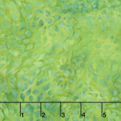 Petal Pushers Batiks - Tossed Seeds Leprechaun Yardage