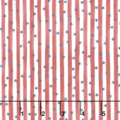 Land That I Love - Stars and Stripes Forever Red Yardage
