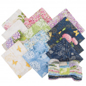 Hydrangea Dreams Fat Quarter Crystals