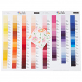 Moda Bella Solids Color Card