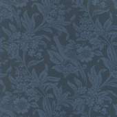 Regency Sussex - Arundel Circa 1800 Hague Blue Yardage