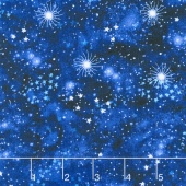 Novelty - Celestial Sky Navy Yardage