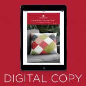 Digital Download - Charm Pillow on Point Quilt Pattern by Missouri Star