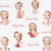 Marilyn Monroe by The Estate of Marilyn Monroe - Portraits Sweet Digitally Printed Yardage